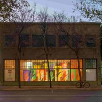 Street view of Artpace with