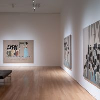 Hayv Kahraman installation view from the exhibition Pulse (2018). Image courtesy of Nerman Museum of Contemporary Art
