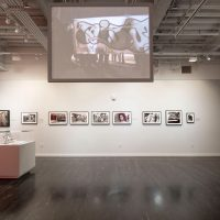 Installation view, Regeneración: Three Generations of Revolutionary Ideology on view at the Vincent Price Art Museum, East Los Angeles College, September 29, 2018 - February 16, 2019. Photo by Monica Orozco