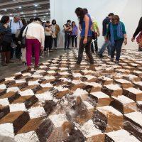 Felipe Arturo, La disolución de la geometría, 2014. Imagen cortesía del artista