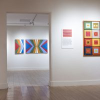 Action/Abstraction Redefined (2019). Installation view. Image courtesy of the Institute of American Indian Arts