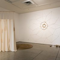 Installation view, Topologies of Excess: A Survey of Contemporary Practices from Puerto Rico at Harold J. Miossi Art Gallery, Cuesta College, California, 2019. Image courtesy of the artists