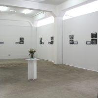 Olenka Macassi. Vista de instalación.Imagen cortesía de ABLi Arte Bienal en Lima