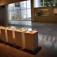 Ficción y tiempo (2018). Vista de instalación. Foto por Emanuel Herrera, cortesía de CCU Tlatelolco