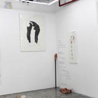 Wynnie Mynerva, Sex Machine(2019). Vista de instalación. Imagen cortesía deGinsberg Galería