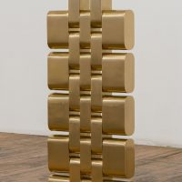 Kenneth Tam, Gold #1. Installation view. Image courtesy of Common Wealth and Council