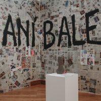 Caníbales (1989), muestra inaugurada en el Museo Municipal de Guayaquil el 24 de mayo de 1989, en La Artefactoría, Centro de Arte Contemporáneo de Quito, 2019. Fotografía: Pablo Jijón. Comunicación y Diseño, Centro de Arte Contemporáneo de Quito