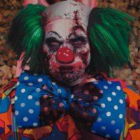 Diego Piñeros García, Zombieland de la serie A Kind of Magic - No es que sea pesismista, es que el mundo es pésimo (2012). Puntillismo en plastilina. Imagen cortesía de Casa Hoffmann