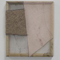 Martha Tuttle, Omphalus 3 (2019). Fabric on frame. Image courtesy ofPiero Atchugarry Gallery