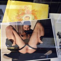 Rick Castro, Fetish King: Seminal Photographs 1986-2019. Installation view at Tom of Finland Foundation. Image courtesy of the artist.