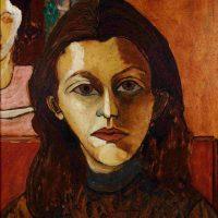 Djanira da Motta, Autorretrato, (1944). Oil on wood, 48 X 35 cm, private collection, Rio de Janeiro, photo: Jaime Acioli