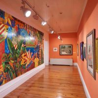 Hard Mouth: From the Tongue of the Ocean (2019). Installation view. Image courtesy of National Art Gallery of The Bahamas
