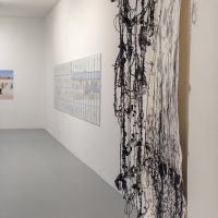View of exhibition Unraveling Collective Forms at LACE. Courtesy of artists. Photo by Christopher Wormald