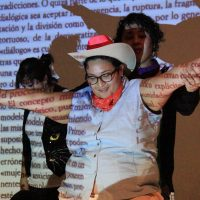 Cabello/Carceller, Bailar El género en disputa #2 (México) (2014). Vídeo, 22'52'' Foto: cortesía de las artistas
