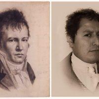 Fabiano Kueva, Portada. Alexandre de Humboldt Autorretrato 1812 Paris. Imagen cortesía de Ex Teresa Arte Actual