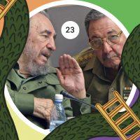 A 60 años de la Revolución Cubana, Fidel Castro cede la presidencia de Cuba a su hermano Raúl, el 31 de julio del 2006.