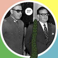 Por recomendación de su predecesor, el General Carlos Prats, el General Augusto Pinochet es nombrado Comandante en Jefe de las Fuerzas Armadas Chilenas por designo del presidente Salvador Allende, el 23 de agosto de 1973.