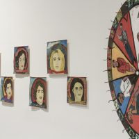 Ana Fernández Miranda Texidor, Ruleta A todo dar. Instalación. Colección de la artista, 1998