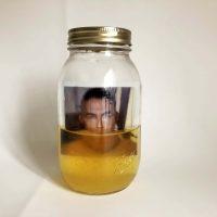 Rubén Esparza, Self Portrait Piss Jar (2019). Courtesy of the artist ©Rubén Esparza