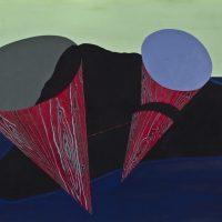 Magdalena Jitrik, O la Utopía o la Guerra (1997). Óleo sobre tela. Colección Eduardo F. Costantini. Foto: Museo de Arte Latinoamericano de Buenos Aires