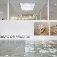Marco Pando, Huaquero de museos (2019). Vista de instalación. Créditos de fotografía: Juan Pablo Murrugarra
