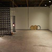 Installation view,ektor garcia: cadena perpetua, SculptureCenter, New York, 2019. Photo: Kyle Knodell