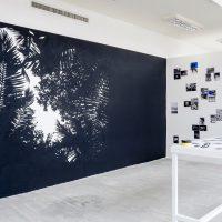 Lionel Cruet. A Speculative Atlas of the Caribbean (2017). Instalación, fotografía y mural. Imagen por Ricardo Bohórquez. Funka Fest 2019