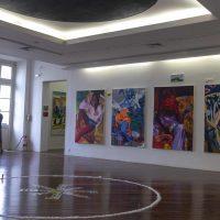 MarcelaCantuária,Sutur|ar Libert|ar (2019). Vista de instalación. Foto porHelena Borges, cortesía de la artista