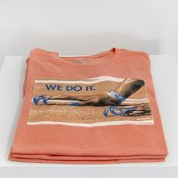 Danny Agnew (Roots Collective), We do it, (2019), Printed t-shirt. Image courtesy of Supplement Projects