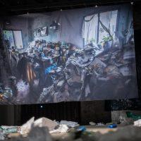 Proyecto Diógenes, La montaña es la montaña(2019). Performance.Foto porJoaquin Wall