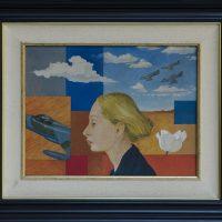 Hugo Rivera Scott (Viña del Mar, Chile, 1943), El retrato de los aviones (1974). © Lorna Remmele / MSSA