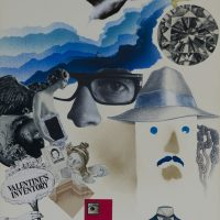 Hugo Rivera Scott, Álvaro Donoso, Lilo Salberg. Valentine Inventory o Trirretrato (1974). © Lorna Remmele / MSSA