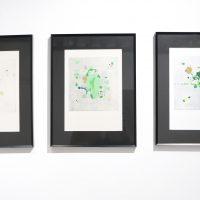 Olmo Uribe, Monotipo (2019). Tintas de aceite sobre papel de algodón.Imagen cortesía de VioletaHorcasitas