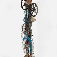 Guyodo, Sans Titre (Untitled) (2010). Mixed media. Courtesy of the artist and Pioneer Works