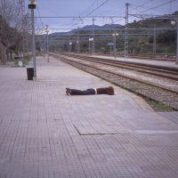 Janaina Tschäpe, 100 Little Deaths Series: La Llança (1998). © Janaina Tschäpe
