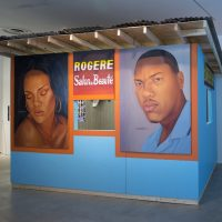 PÒTOPRENS: The Urban Artists of Port-au-Prince(2019). Installation view. Photo byDaniel Bock