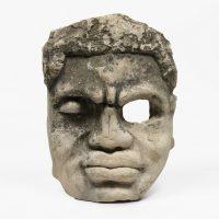 Ti Pelin, Je Kreve kob mistik, (1999). Granite rock. Courtesy of the artist and Pioneer Works