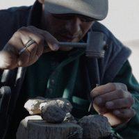 Yto Barrada. Film still of Faux départ [False start] (2015). 16mm, digital video, colour, sound, 22 minutes, 43 seconds. © Yto Barrada, courtesy Pace Gallery; Sfeir-Semler Gallery, Hamburg, Beirut; and Galerie Polaris, Paris