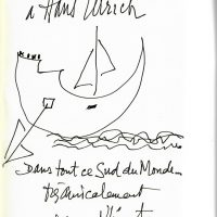 Drawing by Edouard Glissant. Courtesy of Hans Ulrich Obrist