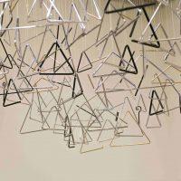 Vivian Caccuri, Ode ao Triângulo(2019). Installation view. Photo by Levi Fanan / Pinacoteca