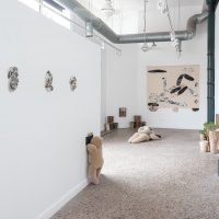 The Way You Talk & Queen's Throat (2019). Installation view. Image courtesy of Roots & Culture Contemporary Art Center