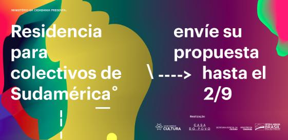 Convocatoria abierta para residencia para colectivos de Sudamérica en Casa do Povo (open call for collective residence Casa do Povo South America)