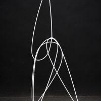 Gwladys Alonzo, Sin título, 2018, 130h x 90w x 90d cm. Courtesy of Galería Hilario Galguera