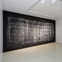 Yolanda Ceballos, Habitación #108, 2019, 328h x 605w x 5d cm. Courtesy of Galería Hilario Galguera