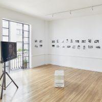 Gonzalo Reyes, Metteur-en-scène (2019). Vista de instalación. Imagen cortesía de Terremoto - La Postal