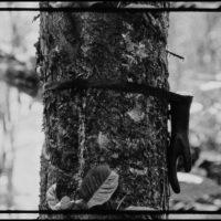 Adrián Balseca. La piel del trabajo. Transfer digital de película 16mm. Blanco/negro / silencio. 9'30'' (loop). 2016. Crédito:Ricardo Bohórquez / MAAC