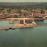 Postal a color. Campeche, 1965