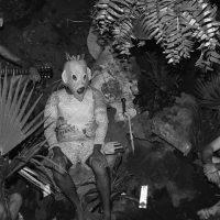 Erik Tlaseca, participante en Bienal Tlatelolca. Vista de instalación. Imagen cortesía de Balam Bartolomé