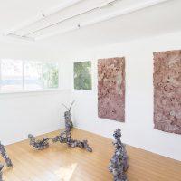 Sarah McMenimen, Mud (2019).Installation view. Image courtesy of the artist and Garden. Photo by Marten Elder