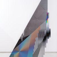 Felipe Pantone, Optichrimie Dimensional 100x150 cm UV paint on aluminum